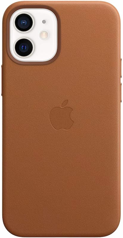 Apple Official iPhone 12 Mini Leather Case with MagSafe