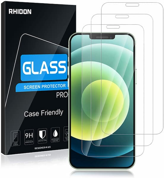 Rhidon 9H Tempered Glass Screen Protector for iPhone 12 Mini